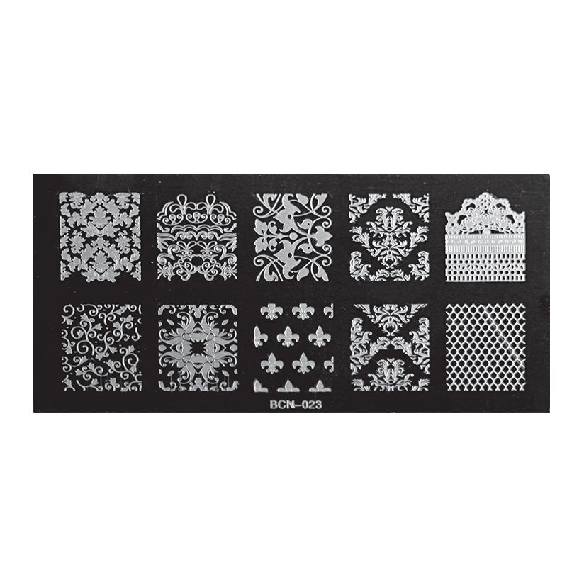 Nail Stamp Plates – BCN-023