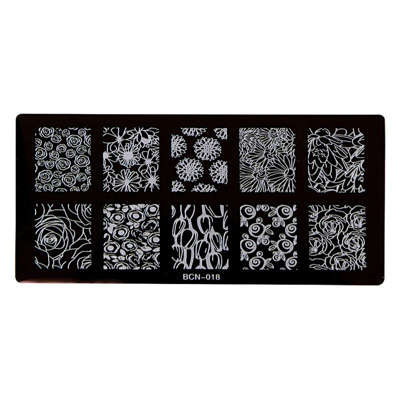 Nail Stamp Plates – BCN-018