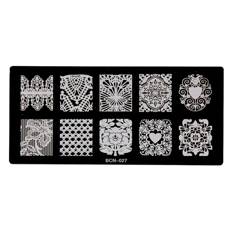 Nail Stamp Plates – BCN-027