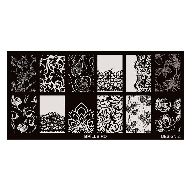 Nail Stamp Plates – Design 2