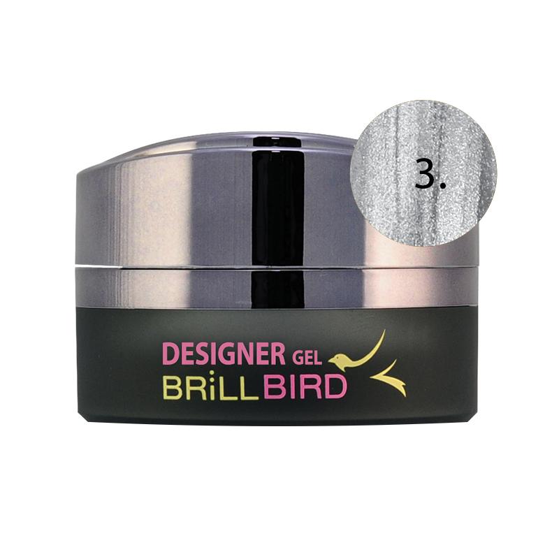 Designer Gel – 3 Silver