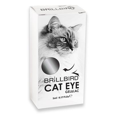 Cat Eyes Gel&Lac 5ml – Silver