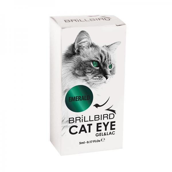 Cat Eyes Gel&Lac 5ml – Emerald