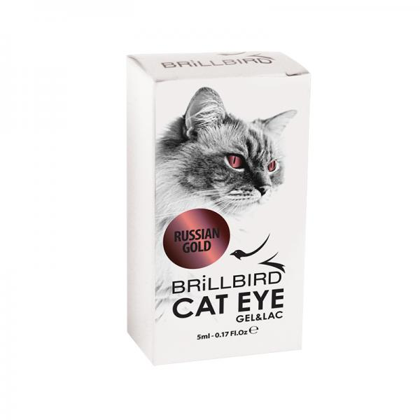 Cat Eyes Gel&Lac 5ml – Russian gold