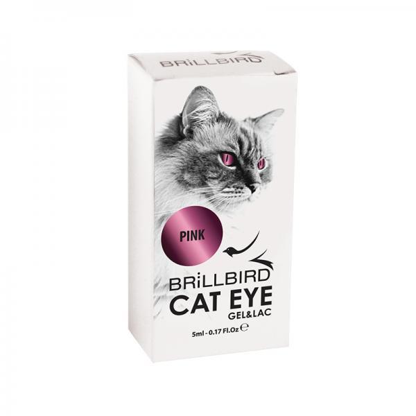 Cat Eyes Gel&Lac 5ml – Pink