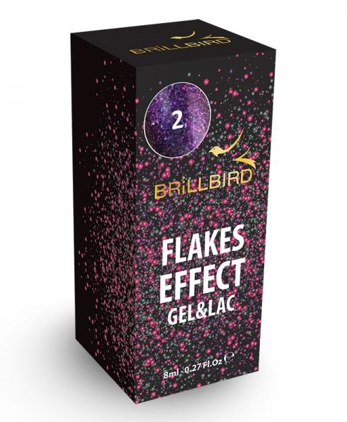 Flakes Effect Gel&lac